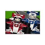 Racing Cars Rectangle Magnet