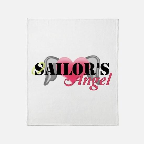 Sailors Angel Throw Blanket