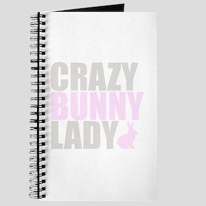 CRAZY BUNNY LADY Journal