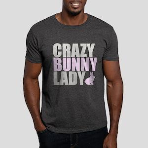 CRAZY BUNNY LADY Dark T-Shirt