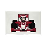 Red Racing Car Magnet (10 Pk)
