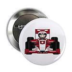 """Red Racing Car 2.25"""" Button (100 Pk)"""