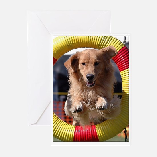 Agility Golden Greeting Cards