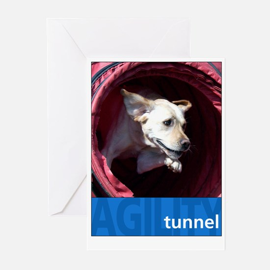 Agility Lab : Tunnel Greeting Cards