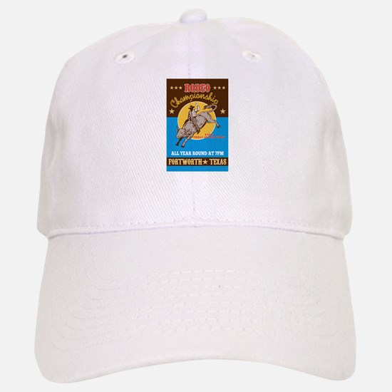 Rodeo Cowboy bull riding Baseball Baseball Cap