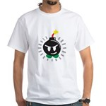 Mr. Bomb White T-Shirt