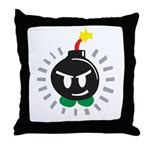 Mr. Bomb Throw Pillow