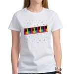 Colorful Piano Women's T-Shirt