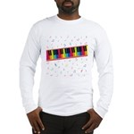 Colorful Piano Long Sleeve T-Shirt