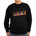 Colorful Piano Sweatshirt (dark)