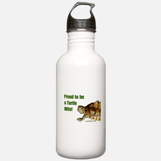 Proud to be a Turtle Wife Water Bottle