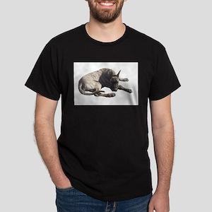 Brindle Great Dane Products Black T-Shirt