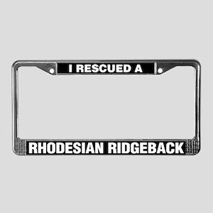 I Rescued a Rhodesian Ridgeback