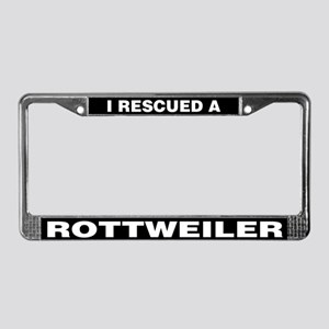 I Rescued a Rottweiler