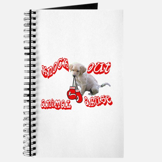 Knock Out Animal Abuse Journal