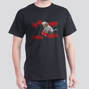 Knock Out Animal Abuse Dark T-Shirt