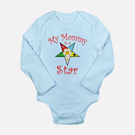 My Mommy's A Star Long Sleeve Infant Bodysuit