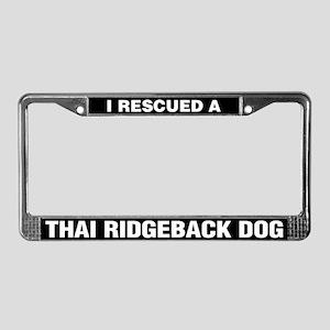 I Rescued a Thai Ridgeback Dog