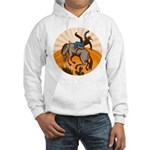 cowboy riding horse Hooded Sweatshirt
