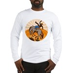 cowboy riding horse Long Sleeve T-Shirt