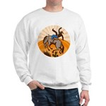 cowboy riding horse Sweatshirt