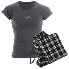 Umbrella Logo | Women's Charcoal Pajamas