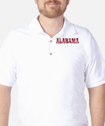 Vintage Alabama Golf Shirt