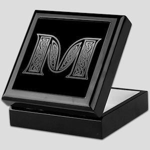 M Monogram Keepsake Box