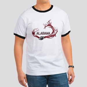 Crimson Tide Football Ringer T