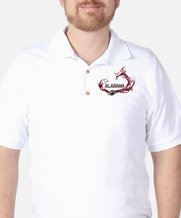 Crimson Tide Football Golf Shirt