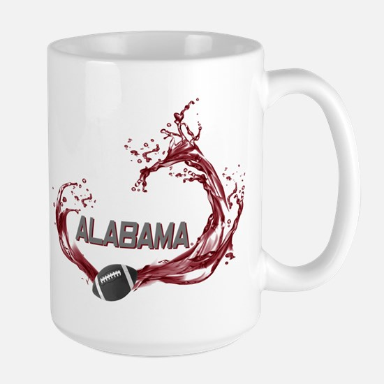 Crimson Tide Football Large Mug