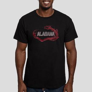 Alabama Crimson Tide Men's Fitted T-Shirt (dark)