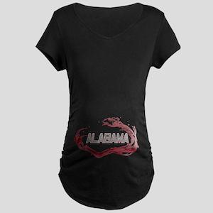 Alabama Crimson Tide Maternity Dark T-Shirt