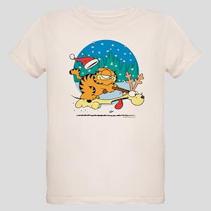 Odie Reindeer Organic Kids T-Shirt
