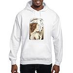 Alphonse Mocha Hooded Sweatshirt