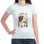 Alphonse Mocha Jr. Ringer T-Shirt