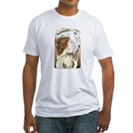 Alphonse Mocha Fitted T-Shirt