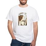 Alphonse Mocha White T-Shirt