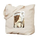 Alphonse Mocha Tote Bag