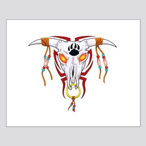 Cow Skull Small Poster
