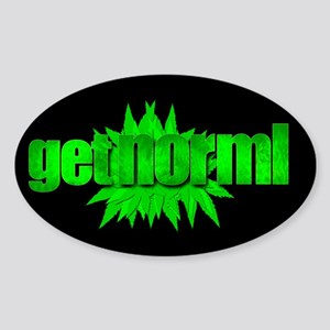 Get Norml Sticker (Oval)