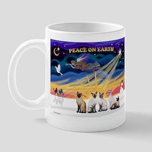 X-Sunrise-Five Siamese Mug