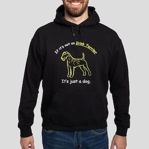 Irish Terrier Hoodie (dark)