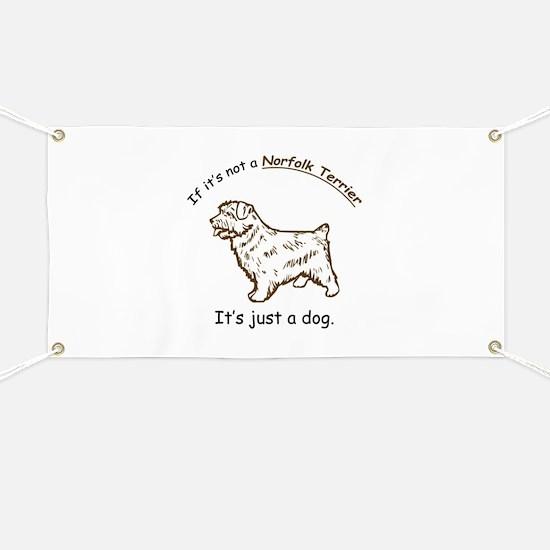 Norfolk Terrier Banner
