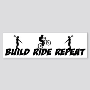 Build Ride Repeat Sticker (Bumper)