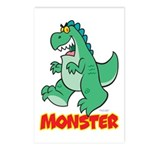 Monster Postcards (Package of 8)
