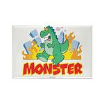 Monster Rectangle Magnet