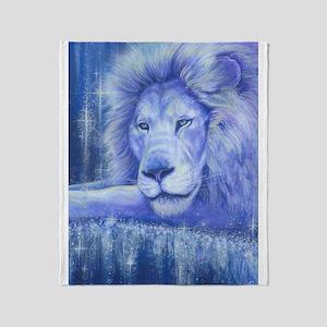Dream Lion Throw Blanket