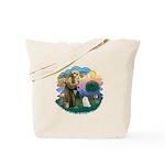 St Fran. (ff) - White Persian Tote Bag