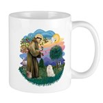 St Fran. (ff) - White Persian Mug